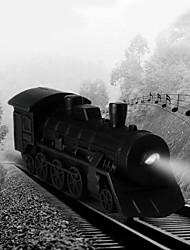 locomotiva a vapor do vintage levou chaveiro som