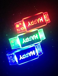 Decoration Light Christmas Light LED Necklace Battery Waterproof  Random Color
