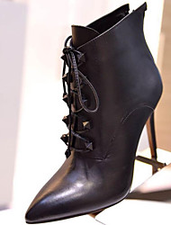 Women's Shoes Fashion Boots Pointed Toe Stiletto Heell  Ankle Boots