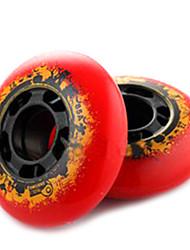 PU-Skate-Rollen für Rollschuhe Schuhe 76 mm 8 Stück