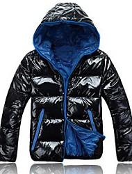 capuche parka d'hiver la mode doudoune hommes (plus de couleurs)