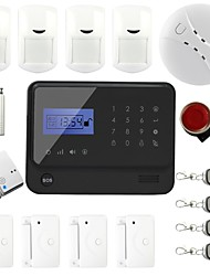Wireless GSM Home Alarm System with iOS and Android APP