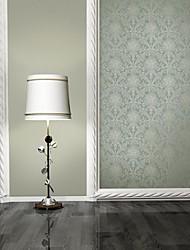 papel de parede revestimento de parede, folha floral clássica não-tecido wallpaper
