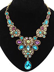 Dream Women's Vintage Colorful  Necklace