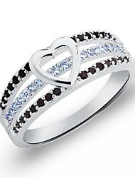 Aska Women's All Match Diamante Gemstone Ring