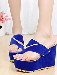 Nicy Women's Korean Summer Sweet Leisure Rivet Sandals