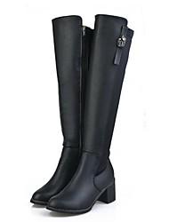 Круглый носок Мока женщин за сапогах