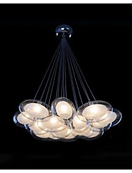 Pendant Light ,  Modern/Contemporary Chrome Feature for LED Metal Living Room Bedroom Dining Room