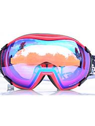 basto moda de alta calidad de las gafas de esquí con anti-vaho