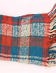 frange reticolo delle donne sciarpa calda