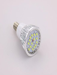 7W E14 Spot LED MR16 15 SMD 5630 650 lm Blanc Froid AC 85-265 V