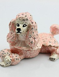 Poodle Trinket Box Dog Jewelry Box