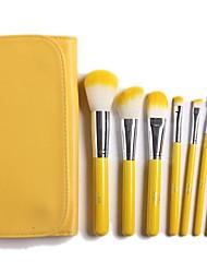 limão composição amarela jogo de escova