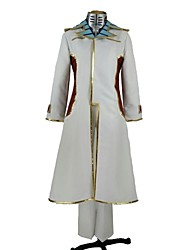 Inspired by Terra Formars Michelle K. Davis Anime Cosplay Costumes Cosplay Suits Solid White Long Sleeve Coat / Pants / Tie / Underwear