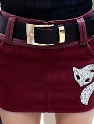 gonne moda elegante bodycon tweed delle donne (più colori)