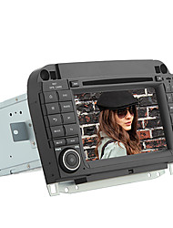 "estremecer 7 ""capacitiva 2DIN carro dvd player para Benzs W220 (2000-2005) com RDS, Bluetooth, GPS, Wi-Fi, TV Digital, CAN-BUS"