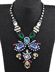 Colorful day  Women's European and American fashion necklace-0526157