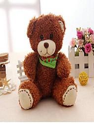 lenço gravação unisex ursinho de brinquedo de pelúcia