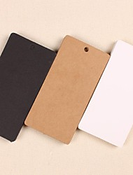 High Quality Kraft Paper Hang Tags Lables for Bookmark Gift Bakery Packaging Favors Wedding Party Price Cards(Set of 50)