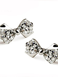 Love Story cute bow earrings