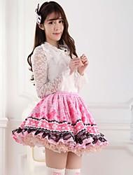 pink recht lolita Klee Prinzessin Rock kawaii schönen Cosplay