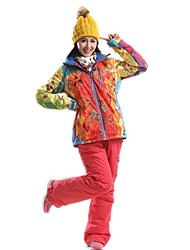 Outdoor Women's Clothing Sets/Suits / Woman's Jacket / Winter Jacket Skiing / Camping & Hiking / Snowboarding / Snowsports / Downhill