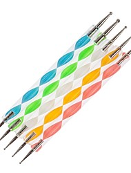 5PCS 2-Way Nail Art Dotting Tools