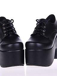 PU Leather 10CM  Platform Punk Lolita Shoes