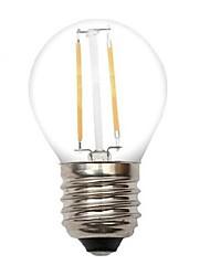 Lampandine a candela 2 COB ON A E26/E27 2 W Decorativo 220 LM 2800-3200 K Bianco caldo AC 220-240 V