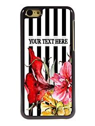 personalizzato phone caso - bar-tipo caso del metallo di disegno per il iphone 5c