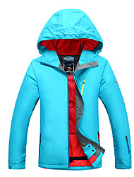 Women's Ski Ski/Snowboard Jackets Waterproof / Breathable / Wearable / Windproof / Thermal / Warm Green / Red / BlueSkiing / Camping &