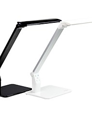 hogar y la oficina dc12v tocan ajustable lámpara de escritorio llevada regulable sensor y la temperatura de color con puerto usb