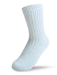 agulha de moda feminina mais meias grossas (5pairs, cor colocação aleatória)