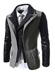 Rate Men's Lapel Neck Slim Fit Jacket