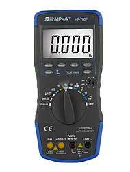 Faixa de auto verdadeiros rms multímetro digital multifuncional instrumento elétrico holdpeak hp-760f