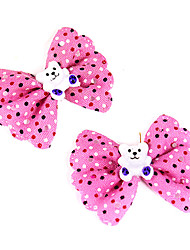 Hair Accessories for Dogs / Cats Spring/Fall Cotton / Aluminum