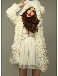 manteau ours mignon de Samantha femmes