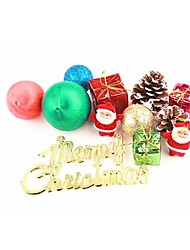 Colored Christmas Decoration Accessories