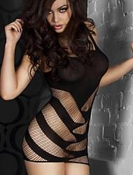 mujeres a cortar fuera sexy vestido (más colores)