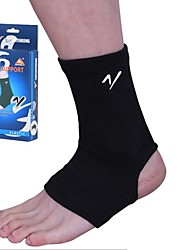 Outdoors Polyester Cotton Black High Elasticity Sports Ankle Guard