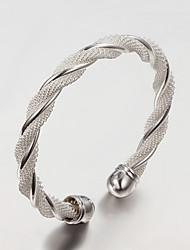 925 pulsera de plata de la moda delicadeza trabajo hecho a mano de las mujeres karuir