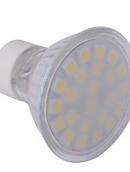 4W GU10 Spot LED MR16 24 SMD 5050 360 lm Blanc Chaud AC 100-240 V