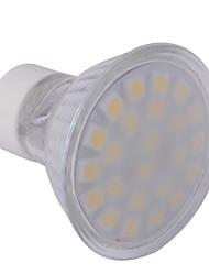 4W GU10 LED Spotlight MR16 24 SMD 5050 360 lm Warm White AC 220-240 V