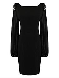 Milliya Women's Fashion Casual Chiffon Bead Dress