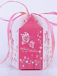 Lace Cardboard Favor Bags For Wedding  Set of 100(More  Colors)