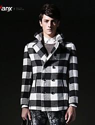 Genanx®Men's Fashion Lattice Trench Coat  F050