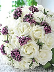 bouquet de demoiselle d'honneur robe de renda casamento le souvenir de fleur blanche de mariée mariée mariage romantique fleur rose