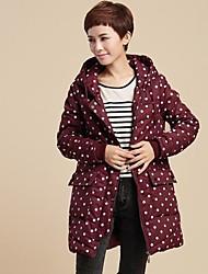 outwears algodão casuais casaco de trincheira das mulheres