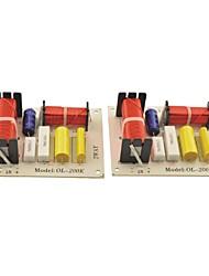 ol-200k 180w hifi filtres crossover 2 voies pour deux haut-parleurs fréquence de système audio diviseur (2pcs)