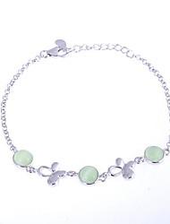 AS 925 Silver Jewelry   The cat's Eye Bracelet